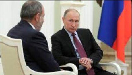 Фото: Премьер-министр Армении прибыл в Москву, где пройдет его встреча с Путиным